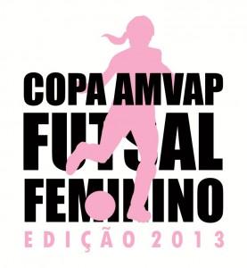 COPA AMVAP FUTSAL FEMININO 2013 - LOGO COMPACTADA