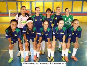 Uberlandia-Seven Campea Feminino 2012