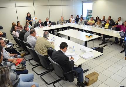 Assembleias do CIDES e CISTRI reúnem mais de dez gestores. Foto: Luiz Otavio Petri