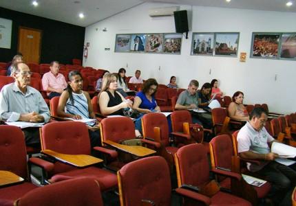 Curso VAF - Anfiteatro Amvap. Foto: Luiz Otavio Petri