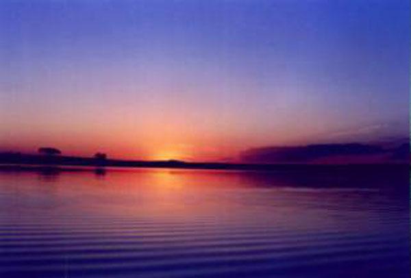 Ecoturismo - Entardecer Por do Sol no Grande Lago da ...